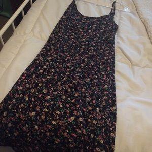 Florals spaghetti strap dress